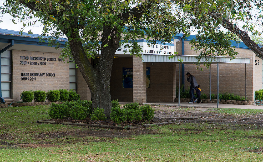 John E. Codwell Elementary School photographed April 5, 2013. The school was a recipient of funds from the 2007 Bond.