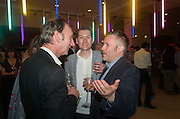 KEITH COVENTRY;  PHIL ALLEN; JAKE MILLER, Tate Summer party. Tate Britian, Millbank. London. 28 May 2012
