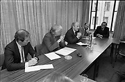 Commission of the European Communities press conference, <br />