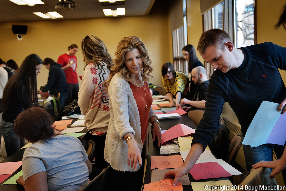 Anita Toronyi's University of Windsor Department of Languages German class is characteriszed by high energy and multi media interaction.