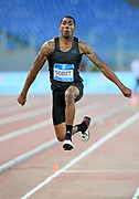 Donald Scott (USA) places third in the triple jump at 57-2¼ (17.43m)during the 39th Golden Gala Pietro Menena in an IAAF Diamond League meet at Stadio Olimpico in Rome on Thursday, June 6, 2019. (Jiro Mochizuki/Image of Sport)