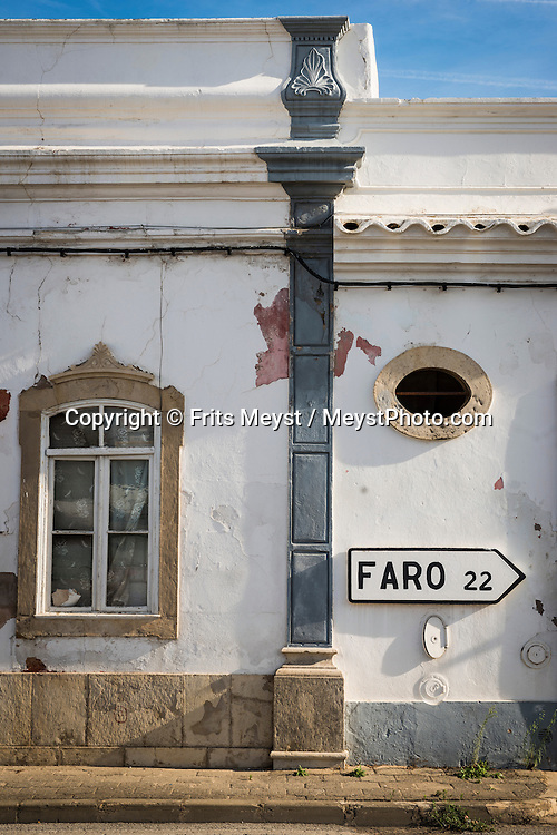 Tavira, Algarve, Portugal, October 2014. The Old town centre of Tavira. A spectacular coastline of steep sandstone cliffs borders hidden sandy beaches on the south western tip of Europe, where the Mediterranean becomes the Atlantic Ocean.  Photo by Frits Meyst / MeystPhoto.com
