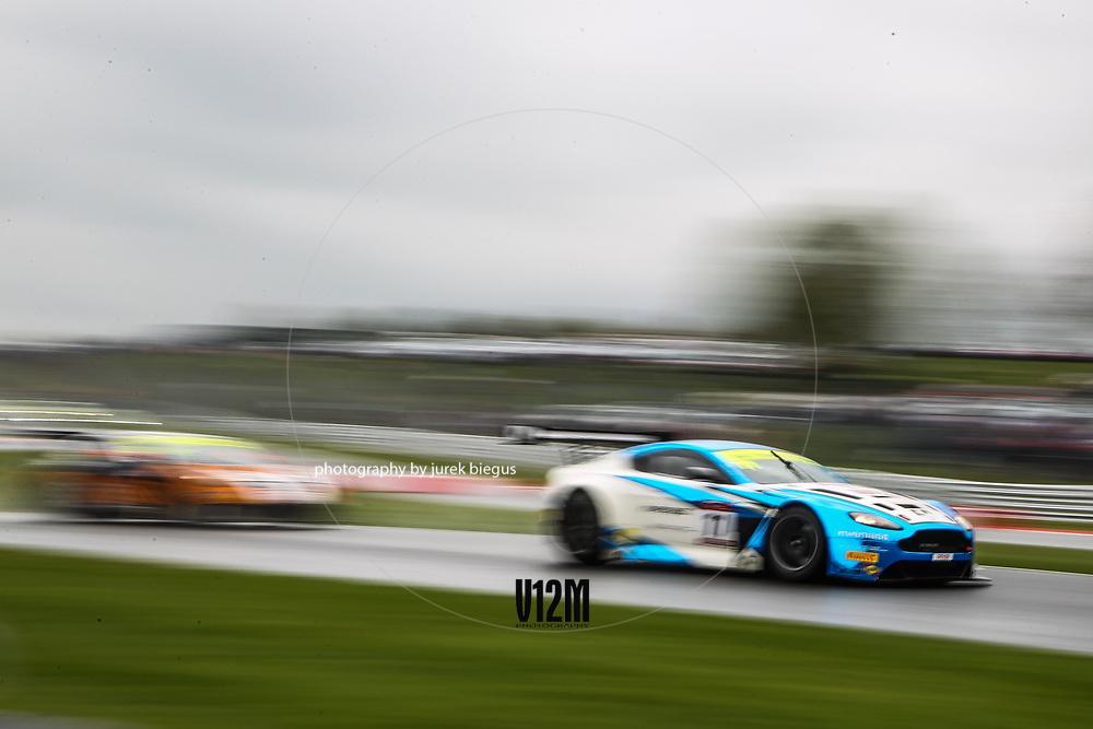 TF Sport | Aston Martin Vantage GT3 | Mark Farmer | Jon Barnes | British GT Championship | Oulton Park | 17 April 2017 | Photo: Jurek Biegus