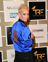Imagine Dragons' 5th Annual Tyler Robinson Foundation Rise Up Gala benefitting families of pediatric cancer at Caesars Palace. 14 Sep 2018 Pictured: Frankie Grande. Photo credit: MBS/MEGA TheMegaAgency.com +1 888 505 6342