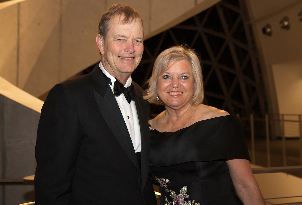 Caption:(Saturday 03/05/2011 St. Petersburg)President of The Dali Museum Board of Trustees Tom James with his wife Mary James...Summary:29th Annual Benefit Dinner for The Dali MuseumPhoto by James Branaman