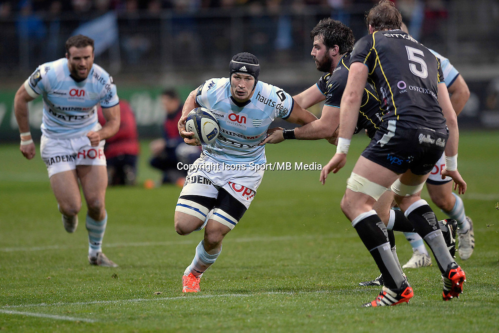 WENCESLAS LAURET - 13.12.2014 - Racing Metro / Osprey - European Champions Cup <br />