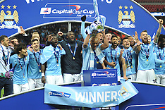 CAPITAL ONE CUP FINAL MANCHESTER CITY V LIVERPOOL 2016