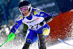 LINDSTROEM Aron, LW6/8-2, SWE, Slalom at the WPAS_2019 Alpine Skiing World Cup, La Molina, Spain
