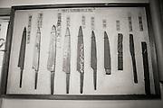 The process of a hand made knife by Yoshikazu Ikeda Forged Knife Master Craftsman, Sakai, Osaka Prefecture, Japan