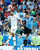 Olivier Giroud (France) Jose Gimenez (Uruguay)<br /> Nizhny Novgorod 06-07-2018 Football FIFA World Cup Russia  2018 Uruguay - France / Uruguay - Francia <br /> Foto Matteo Ciambelli/Insidefoto