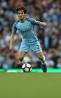 Football - David Silva of Manchester City during the match at the Etihad Stadium between Manchester City and West Ham United. <br /> <br /> 2016 / 2017 Premier League - Manchester City vs. West Ham United<br /> <br /> -- at The Etihad Stadium.<br /> <br /> COLORSPORT/LYNNE CAMERON