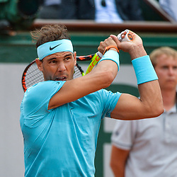 Rafael Nadal of Spain during Day 2 of Roland Garros, the French Open 2018 on May 28, 2018 in Paris, France. (Photo by Baptiste Fernandez/Icon Sport)