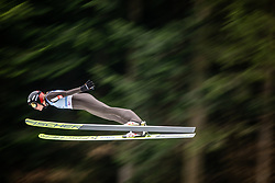 LUNDBY Maren (NOR) during first round on day 2 of  FIS Ski Jumping World Cup Ladies Ljubno 2020, on February 23th, 2020 in Ljubno ob Savinji, Ljubno ob Savinji, Slovenia. Photo by Matic Ritonja / Sportida