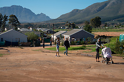 Mountain View settlement in Jamestown, which is located in the Cape Winelands, on Saturday afternoon, May 29, 2020. Cape Winelands is one of the districts in the Western Cape that has been designated a hotspot area, in terms of people testing positive for COVID-19. When South Africa moves down to Stage 3 of the nationwide lockdown on June 1st, hotspots areas will remain under stricter regulation and surveillance, per the latest government announcements. PHOTO: EVA-LOTTA JANSSON
