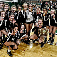 10.28.2017 Canton Central Catholic Volleyball - District Championship