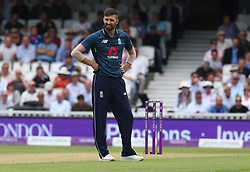 June 13, 2018 - London, England, United Kingdom - England's Mark Wood.during One Day International Series match between England and Australia at Kia Oval Ground, London, England on 13 June 2018. (Credit Image: © Kieran Galvin/NurPhoto via ZUMA Press)