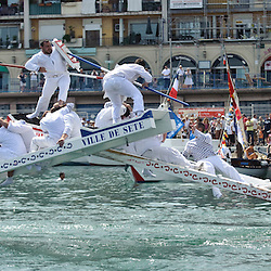 Escale a Séte, local traditional event, images the taken during the Extreme Sailing Series in Séte May 2010 in France