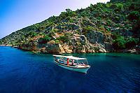 The island of Kekova, Kekova Sound, Turquoise Coast, Turkey