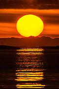 Sunset at Herøyfjord, Norway | Solnedgang i Herøyfjord, Norge.