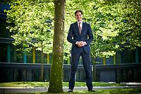 Den Haag,  28 juni 2018 - Portret van Minister Wopke Hoekstra van Financi&euml;n (CDA).<br /> <br /> VOORKEUR<br /> Foto: Phil Nijhuis