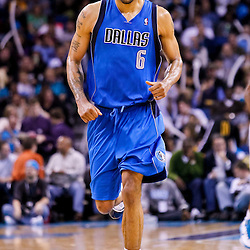 November 17, 2010; New Orleans, LA, USA; Dallas Mavericks center Tyson Chandler (6) against the New Orleans Hornets during the second half at the New Orleans Arena. The Hornets defeated the Mavericks 99-97. Mandatory Credit: Derick E. Hingle
