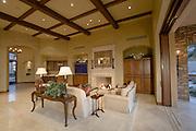 Interior of living room of luxury villa