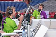 Johan Cruijff ArenA, Amsterdam. FC Kensington vs FC Coen en Sander.  Op de foto: Sander Lantinga en Coen Swijnenberg