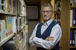 Portrait of prof. dr. Vinko Potocnik, Slovenian theologist, sociologist and psychologist, in Maribor, on October 1st, 2019 in Slovenia. Photo by Milos Vujinovic / Sportida