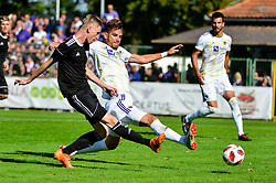 Zan Karnicnik of NS Mura during football match between NS Mura and NK Maribor in 10th Round of Prva liga Telekom Slovenije 2018/19, on September 30, 2018 in Mestni stadion Fazanerija, Murska Sobota, Slovenia. Photo by Mario Horvat / Sportida