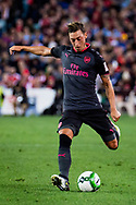 July 13 2017: Arsenal player Mesut Ozil (11) at the International soccer match between English Premier League giants Arsenal and A-League premiers Sydney FC at ANZ Stadium in Sydney.