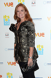 Patsy Palmer arriving at the premiere of It's A Lot , in London,Monday, 21st October 2013. Picture by Stephen Lock / i-Images