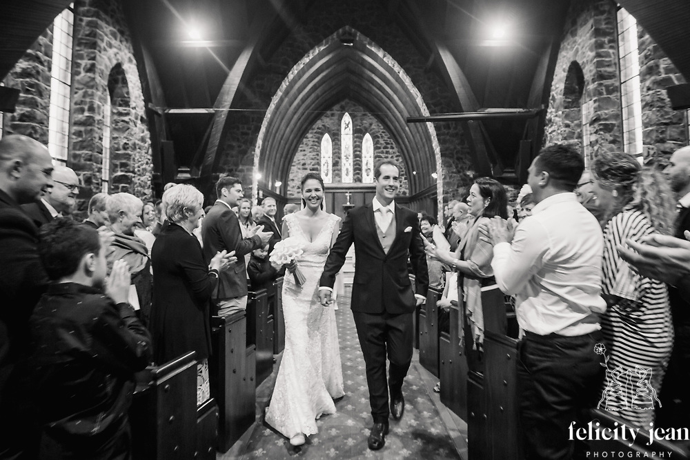 luci & luke's Bay of Islands wedding in Paihia Stone Church a winter wedding on a very stormy day Felicity Jean Photography Coromandel Photographer
