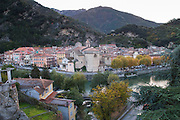 November 10, 2016 - Breil-sur-Roya, France: the traditional old well preserved mountain village Breil-sur-Roya in the Roya valley, in the Alps, on the French Italian border, where habitats formed a network to help migrants who walked into the valley from Ventimiglia, Italy. <br /> <br /> 10 novembre 2016 - Breil-sur-Roya, France: 120 habitants de l'ancien village historique de montagne, traditionnel et préservé Breil-sur-Roya, dans la vallée de la Roya, dans les Alpes, à la frontière entre la France et l'Italie, ont formé un réseau pour aider les migrants venus de Ventimiglia, Italie
