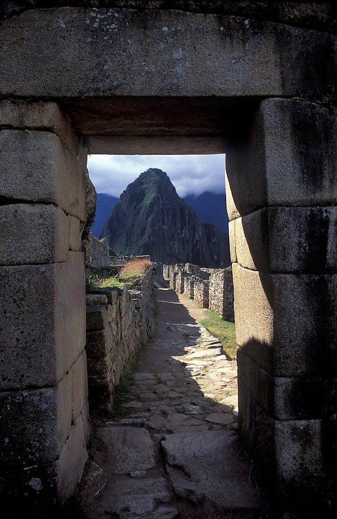 "The fabled Incan ""Lost City"" of Machu Picchu, Cuzco Region, South America"