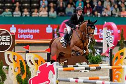 EHNING Marcus (GER), Cupfer<br /> Leipzig - Partner Pferd 2020<br /> FUNDIS Youngster Tour<br /> 2. Qualifikation für 7jährige Pferde <br /> Springprfg. nach Fehlern und Zeit, int.<br /> Höhe: 1.35 m<br /> 18. Januar 2020<br /> © www.sportfotos-lafrentz.de/Stefan Lafrentz