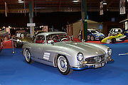 RIAC Classic Car Show 2013, RDS, 1955 Mercedes-Benz 300SL Gullwing. This model was prepared for the New York International Motor Show in February 1954. The car aroused an almost hysterical reaction from press and public alike. It's a precious jewell for the collectors. Irish, Photo, archive.
