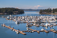 Roche Harbor Marina San Juan Island Washington
