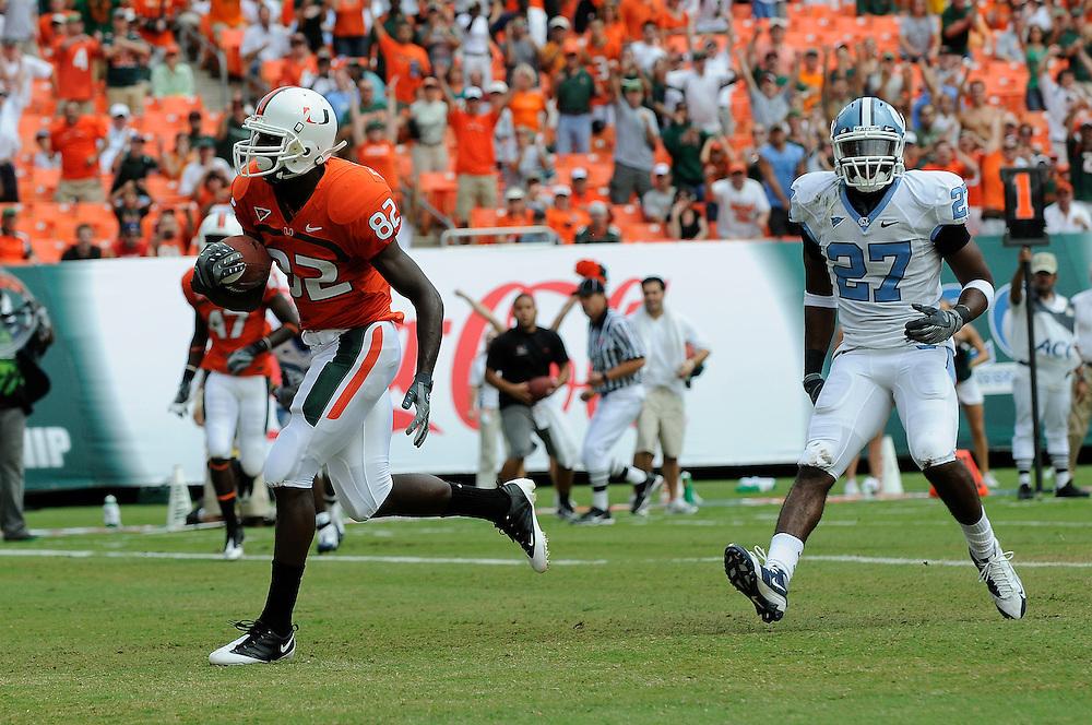 2008 Miami Hurricanes Football vs North Carolina