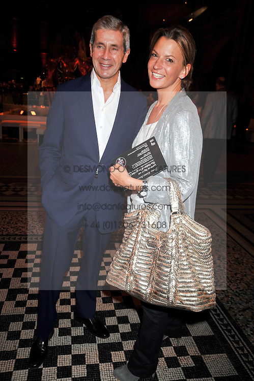 Sir Stuart Rose and Tania Foster-Brown at the 30 Days of Fashion & Beauty Gala Party sponsored by Boots in aid of Breast Cancer Care held at the Natural History Museum, London on 21st September 2009.