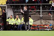 &Ouml;STERSUND, SWEDEN - 2017-09-28: &Ouml;stersunds FK's tr&auml;nare Graham Potter under UEFA Europa League group J matchen mellan &Ouml;stersunds FK och Hertha Berlin SC p&aring; J&auml;mtkraft Arena den 28 September, 2017 in &Ouml;stersund, Sweden. Foto: Nils Petter Nilsson/Ombrello<br /> ***BETALBILD***