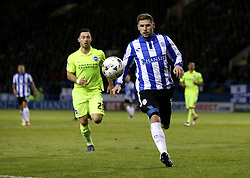 Gary Hooper of Sheffield Wednesday chases the ball - Mandatory by-line: Robbie Stephenson/JMP - 13/05/2016 - FOOTBALL - Hillsborough - Sheffield, England - Sheffield Wednesday v Brighton and Hove Albion - Sky Bet Championship Play-off Semi Final first leg