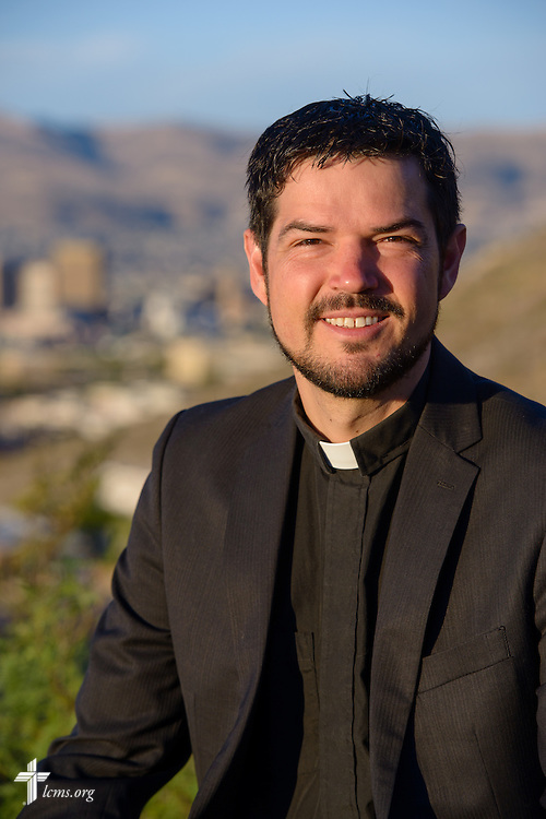 Portrait of the Rev. Stephen Heimer, pastor of Zion Lutheran Church, El Paso, Texas, and chief operating officer of Ysleta Lutheran Mission Human Care, on Sunday, May 22, 2016, in El Paso, Texas. LCMS Communications/Erik M. Lunsford