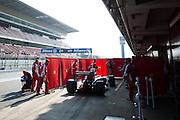 February 19-22, 2015: Formula 1 Pre-season testing Barcelona : Ferrari
