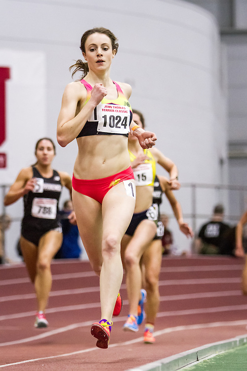 women's 3000, New Balance, Speed River, 1024, Boston University John Terrier Invitational Indoor Track and Field