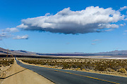 California, U.S. Route 395 - Therr Flags Highway