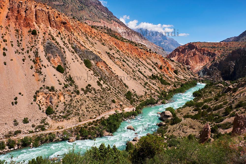 Tadjikistan, Asie centrale, Monts Fan, région du lac d'Iskander Koul // Tajikistan, Central Asia, Fann Mountains, near Iskanderkul Lake