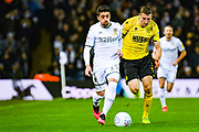 Leeds United midfielder Pablo Hernandez (19) during the EFL Sky Bet Championship match between Leeds United and Millwall at Elland Road, Leeds, England on 28 January 2020.