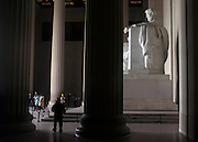 © Licensed to London News Pictures. 01/01/2013. Washington DC, USA .  The Lincoln Memorial. Photo credit : Stephen Simpson/LNP