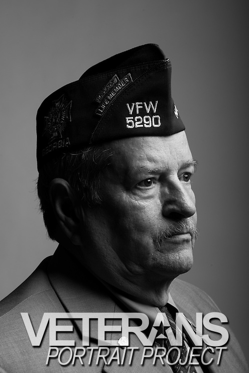 Dean E. Smith<br /> Army<br /> Lt.Col. (O-5)<br /> Infantry Company Commander, Operations Officer<br /> May 1969 - Sept. 1993<br /> Vietnam<br /> <br /> Veterans Portrait Project<br /> Louisville, KY<br /> VFW Convention <br /> (Photos by Stacy L. Pearsall)
