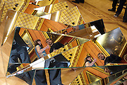 OPHELIA LOVIBOND; CHRISTOPHER DE VOS;,  PETER PILOTTO COLLABORATION . Wallace Collection. London. 15 February 2011.  -DO NOT ARCHIVE-© Copyright Photograph by Dafydd Jones. 248 Clapham Rd. London SW9 0PZ. Tel 0207 820 0771. www.dafjones.com.
